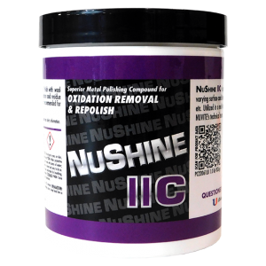 NuShine IIC - Metal Polish for Oxidation Removal and Repolish